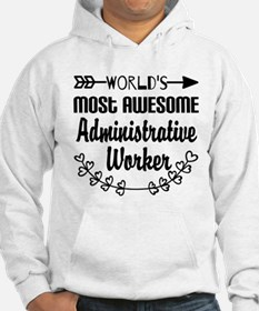 World's Most Awesome Administrat Hoodie