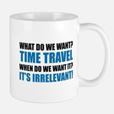 Time Travel Small Mugs