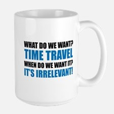 Time Travel Ceramic Mugs
