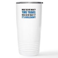 Time Travel Ceramic Travel Mug