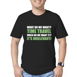 It crowd Fitted T-shirts (Dark)
