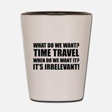 Time Travel Shot Glass
