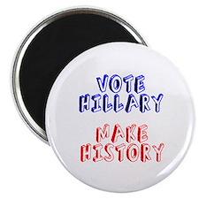 Vote Hillary Make History Magnet