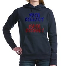 Vote Hillary Make Histor Women's Hooded Sweatshirt