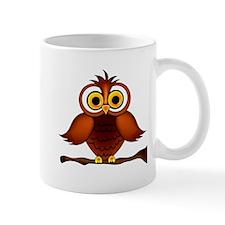 Forest Night Bird Owl Graphic Design Art Mugs