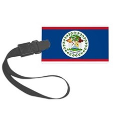 Flag Of Belize Luggage Tag