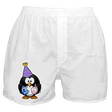 Party Penguin Boxer Shorts
