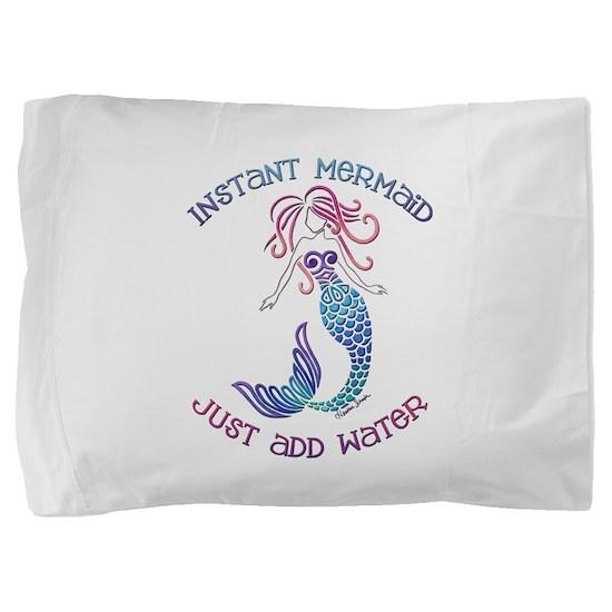 Instant Mermaid Pillow Sham