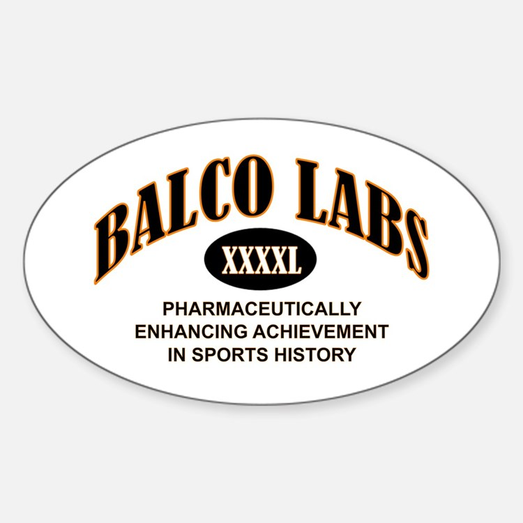 Balco Oval Decal