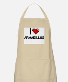 I love Armadillos Digital Design Apron