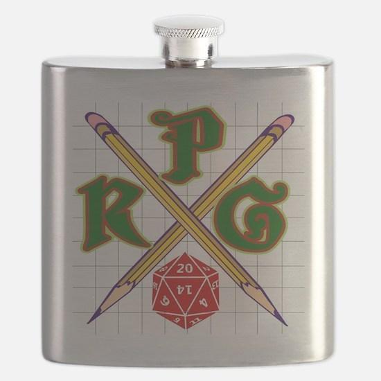 RPG Shield Flask