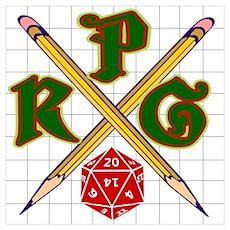 RPG Shield Poster