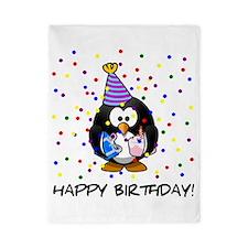 Happy Birthday Penguin Twin Duvet