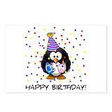 Happy birthday penguin Stationery