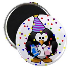 Happy Birthday Penguin Magnets