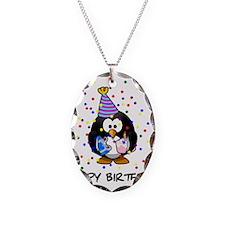 Happy Birthday Penguin Necklace