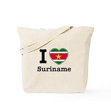 I love Suriname Tote Bag