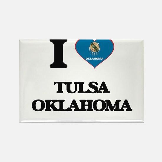 I love Tulsa Oklahoma Magnets