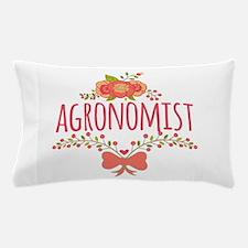 Cute Floral Occupation Agronomist Pillow Case