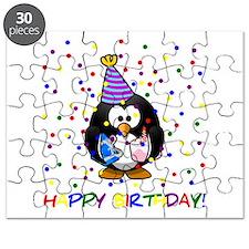 Birthday Penguin Puzzle