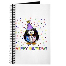 Birthday Penguin Journal