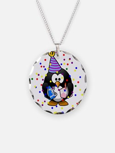 Birthday Penguin Necklace