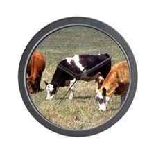 Cattle Farm Wall Clock
