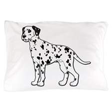 Dalmatian - No Text Pillow Case