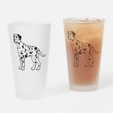 Dalmatian - No Text Drinking Glass