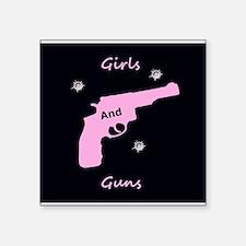 Guns and girls Sticker