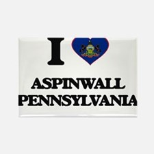 I love Aspinwall Pennsylvania Magnets