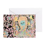 """Muerta Lisa"" Card Greeting Cards"