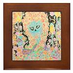 """""""Muerta Lisa"""" Framed Tile"""