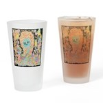 """Muerta Lisa"" Drinking Glass"