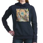 """Muerta Lisa"" Women's Hooded Sweatshirt"