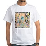 """Muerta Lisa"" White T-Shirt"