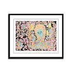 """""""Muerta Lisa"""" Framed Panel Print"""