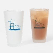 Offshore Wind Farm Drinking Glass