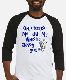 Whistle Annoy Baseball Jersey