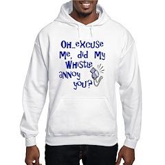 Whistle Annoy Hooded Ash Grey Sweatshirt