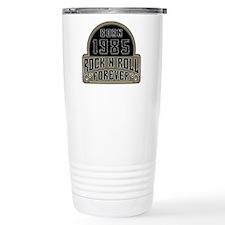 Birthday Born 1985 Rock Travel Mug