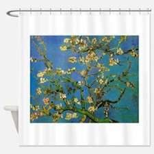 Blossoming Almond Tree by Vincent v Shower Curtain