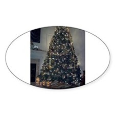 Christmas tree dark colors Decal
