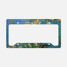 Blossoming Almond Tree by Vin License Plate Holder