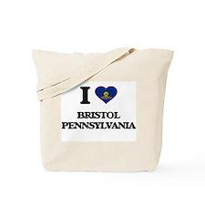 I love Bristol Pennsylvania Tote Bag