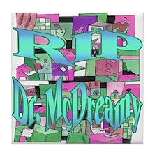 RIP Dr. McDreamy Tile Coaster