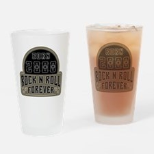 Birthday Born 2000 Rock And Roll Drinking Glass