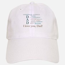 I love you, Dad! Baseball Baseball Baseball Cap