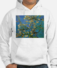 Blossoming Almond Tree by Vincen Hoodie