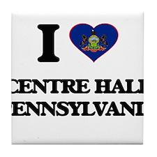 I love Centre Hall Pennsylvania Tile Coaster